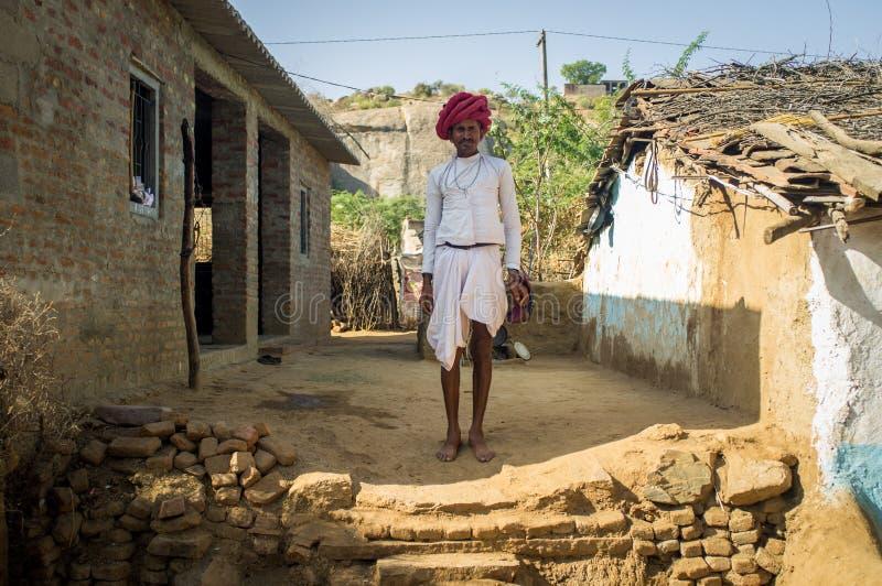 Φυλέτης Rabari στοκ φωτογραφία με δικαίωμα ελεύθερης χρήσης