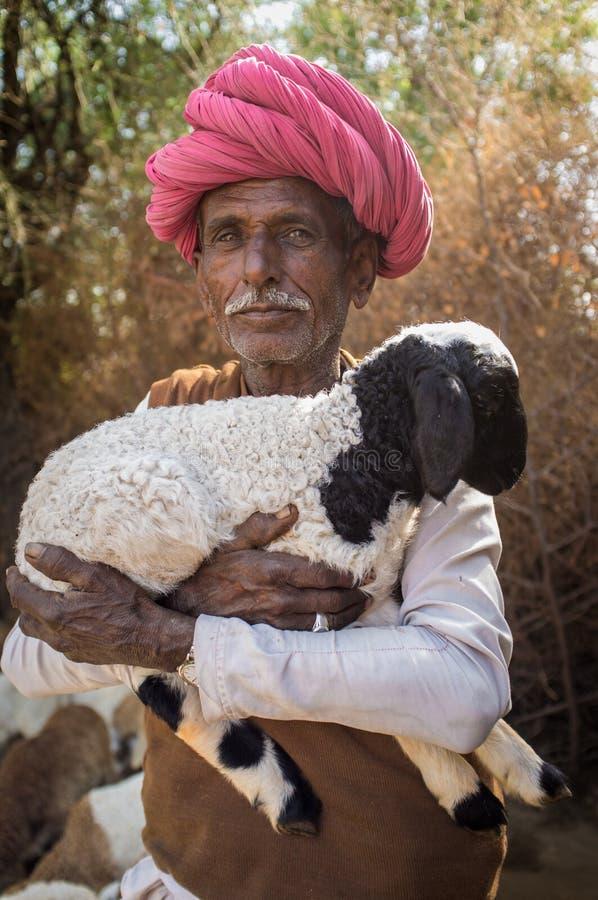Φυλέτης Rabari στοκ φωτογραφίες με δικαίωμα ελεύθερης χρήσης