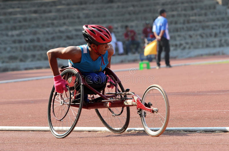 Φυλή αναπηρικών καρεκλών στοκ φωτογραφίες με δικαίωμα ελεύθερης χρήσης
