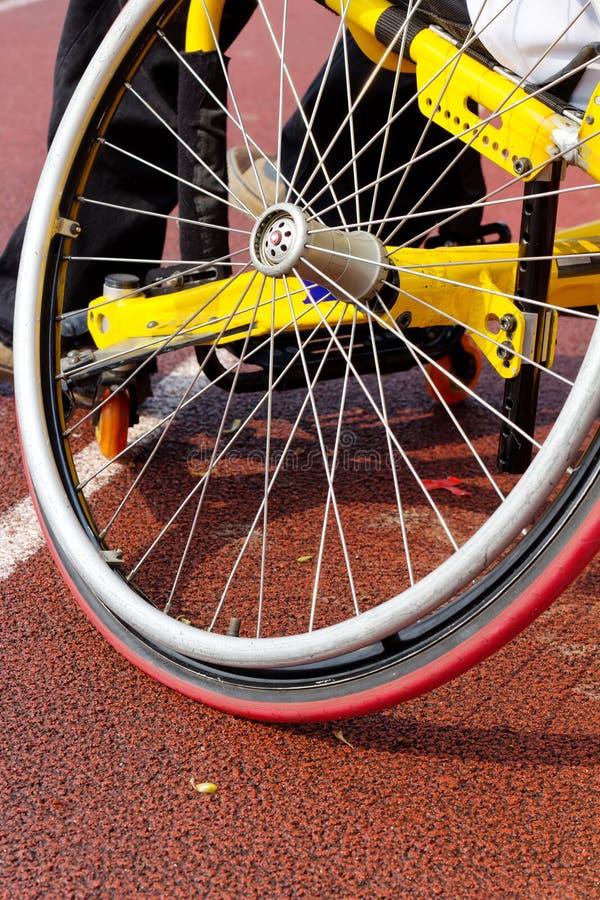 Φυλή αναπηρικών καρεκλών στοκ φωτογραφία με δικαίωμα ελεύθερης χρήσης