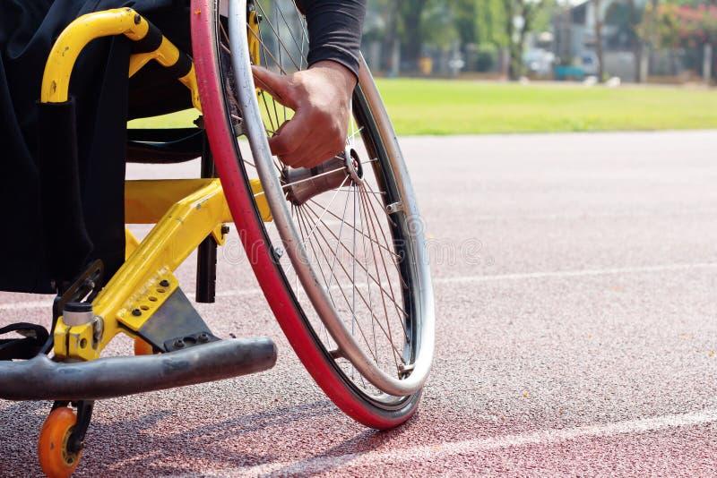 Φυλή αναπηρικών καρεκλών στοκ εικόνες με δικαίωμα ελεύθερης χρήσης