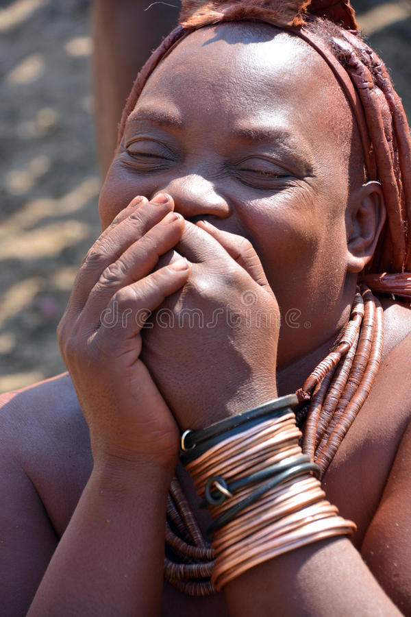 Φυλή Himba στοκ φωτογραφία με δικαίωμα ελεύθερης χρήσης