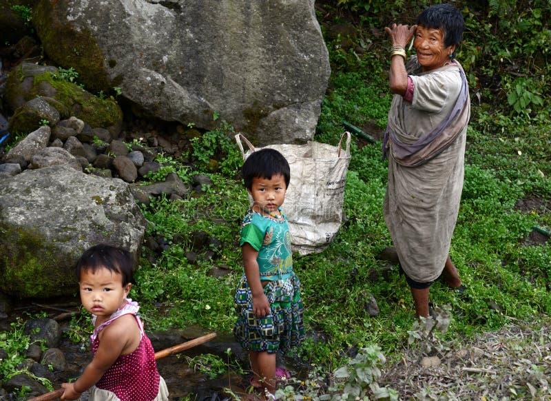 Φυλετική Ινδία στοκ φωτογραφία με δικαίωμα ελεύθερης χρήσης