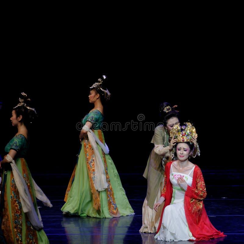 Φωνάζοντας το γάμος-τριών actï ¼ š ` όνειρο να τεμαχίσει το μετάξι ` - επική πριγκήπισσα ` μεταξιού δράματος ` χορού στοκ εικόνες με δικαίωμα ελεύθερης χρήσης