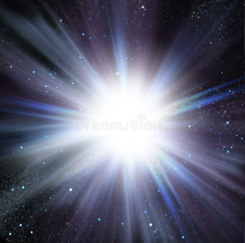 Φως λάμψης από το κέντρο απεικόνιση αποθεμάτων