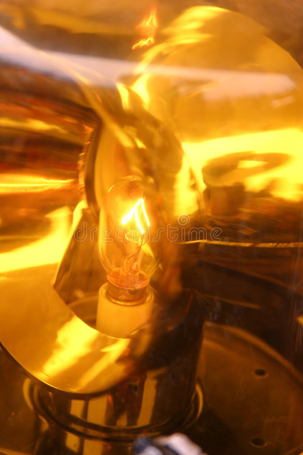 φως αναγνωριστικών σημάτων Στοκ Εικόνα