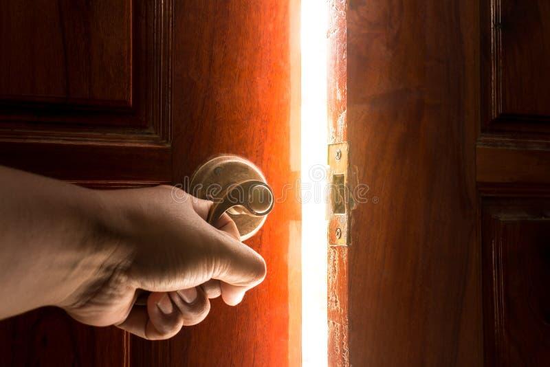 Φως ανοιχτών πορτών στοκ φωτογραφία με δικαίωμα ελεύθερης χρήσης