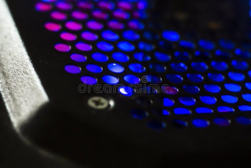Φως από έναν υπολογιστή στοκ φωτογραφία με δικαίωμα ελεύθερης χρήσης