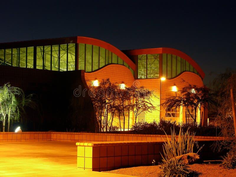 φως αυγής οικοδόμησης προ στοκ εικόνα με δικαίωμα ελεύθερης χρήσης