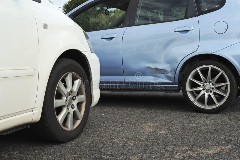 φως αυτοκινήτων ατυχήματος στοκ εικόνες με δικαίωμα ελεύθερης χρήσης