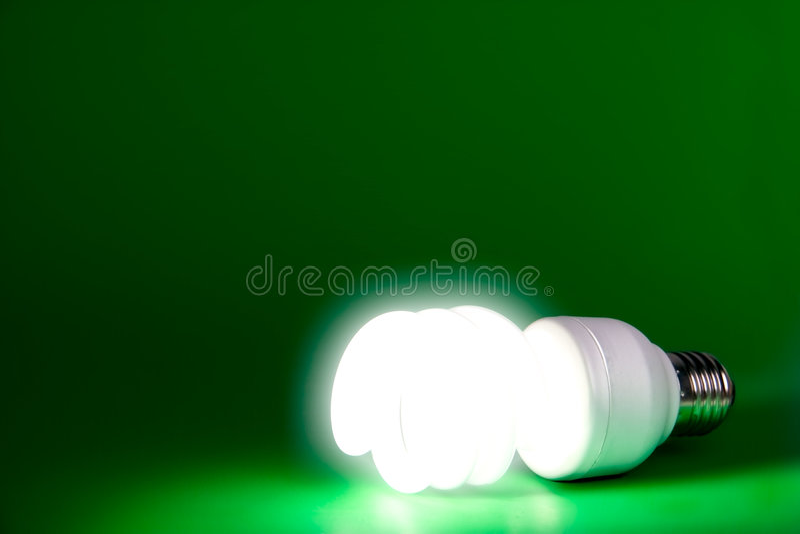 φως βολβών αναμμένο στοκ εικόνες με δικαίωμα ελεύθερης χρήσης