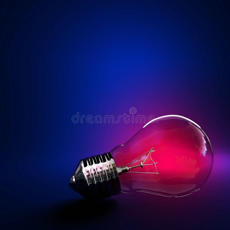 φως βολβών ανασκόπησης ελεύθερη απεικόνιση δικαιώματος