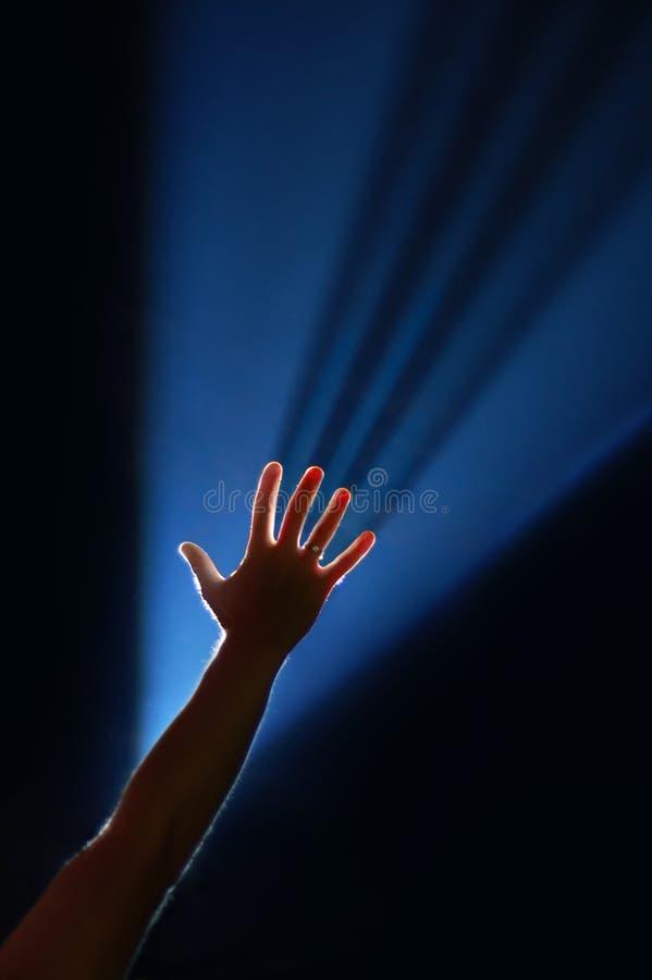 φως βραχιόνων στοκ εικόνες