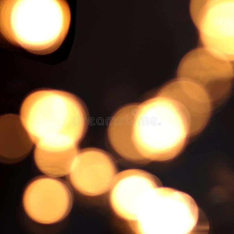 φως θαμπάδων ανασκόπησης στοκ εικόνες