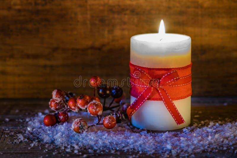 Φως ιστιοφόρου στην εποχή Χριστουγέννων στοκ εικόνα