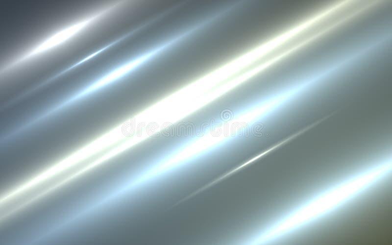 Φως και λωρίδες που κινούνται γρήγορα πέρα από το σκοτεινό υπόβαθρο απεικόνιση αποθεμάτων