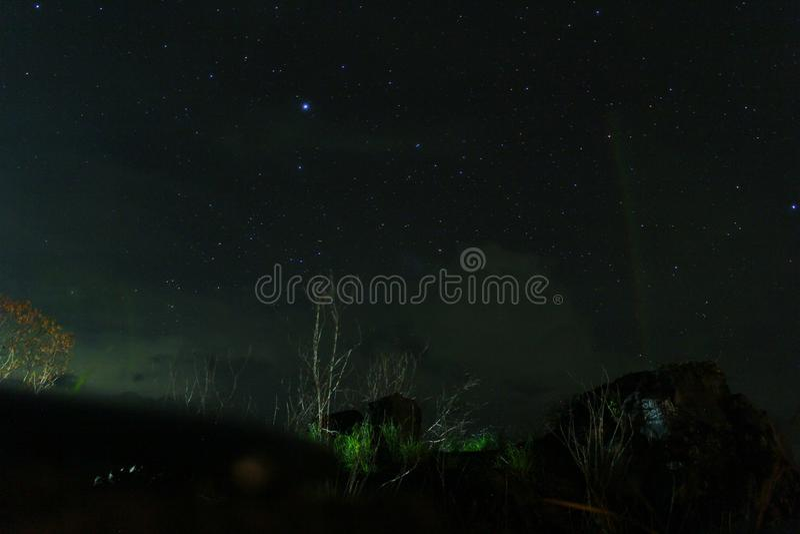 Φως και νύχτα στοκ εικόνα με δικαίωμα ελεύθερης χρήσης