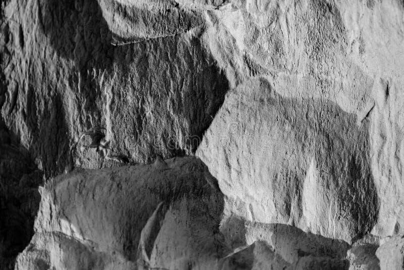 Φως και σκιές στην πέτρα στοκ εικόνες