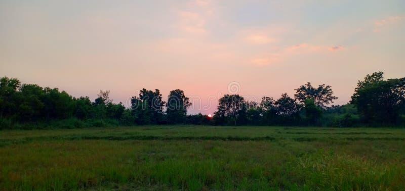 Φως και χρώμα ουρανού στοκ φωτογραφίες