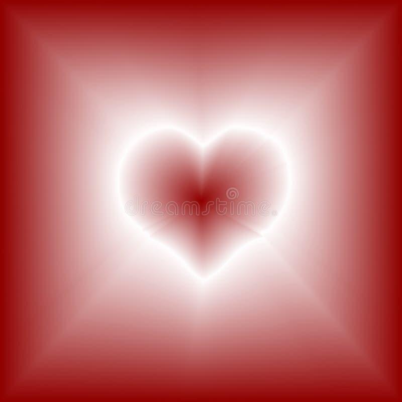 φως καρδιών διανυσματική απεικόνιση