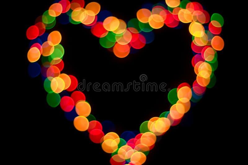 φως καρδιών στοκ εικόνες