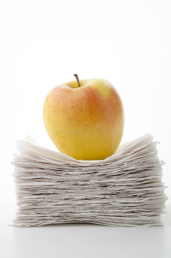 φως μήλων στοκ εικόνες