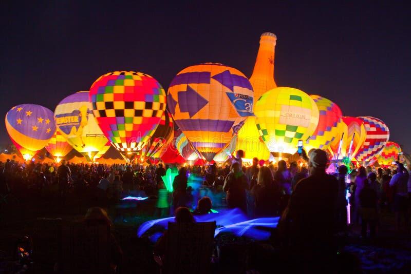 φως πυράκτωσης μπαλονιών sa στοκ εικόνα