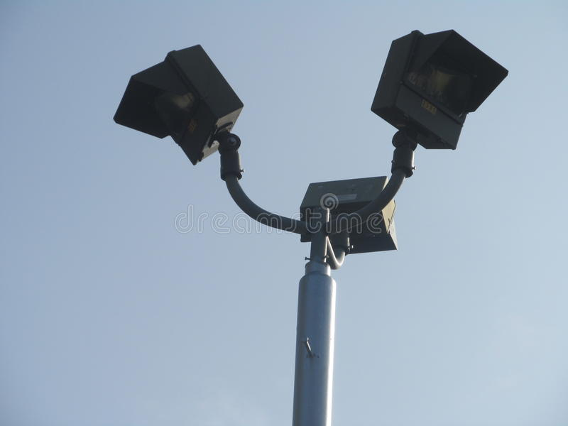 φως στο μπλε ουρανό στοκ φωτογραφίες με δικαίωμα ελεύθερης χρήσης