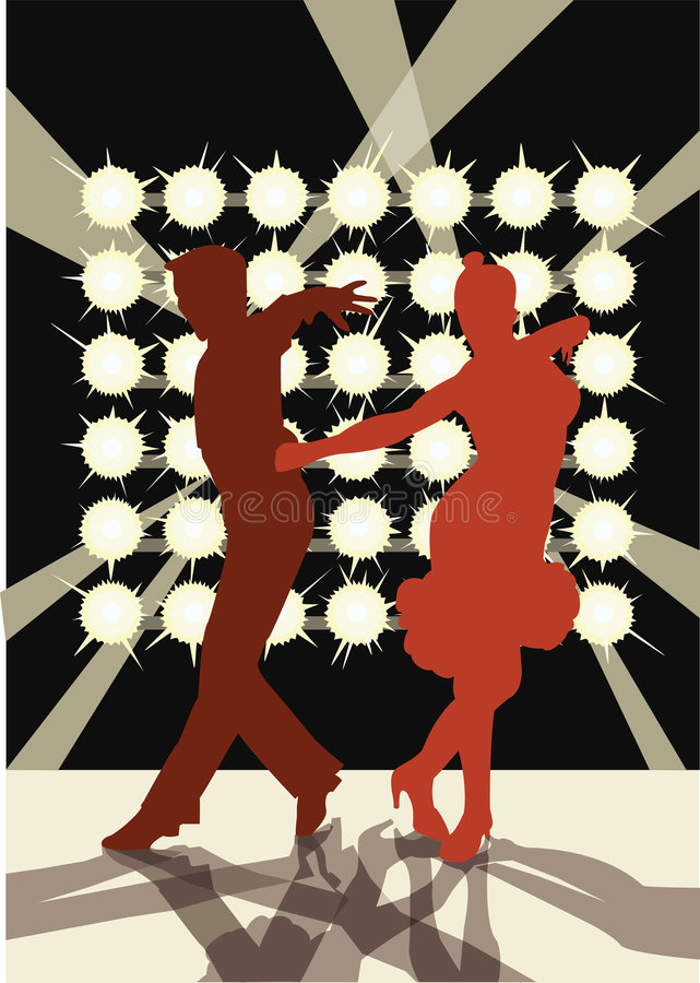 φως χορού στοκ φωτογραφία με δικαίωμα ελεύθερης χρήσης