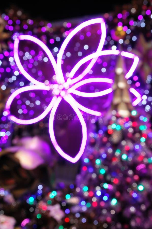 φως Χριστουγέννων ανασκό&p στοκ εικόνες