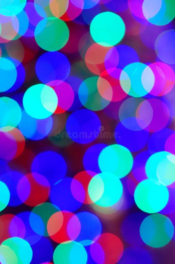 φως Χριστουγέννων ανασκό&p στοκ φωτογραφίες