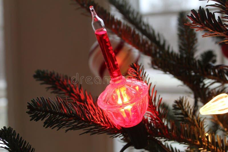 Φως Χριστουγέννων στοκ φωτογραφία με δικαίωμα ελεύθερης χρήσης