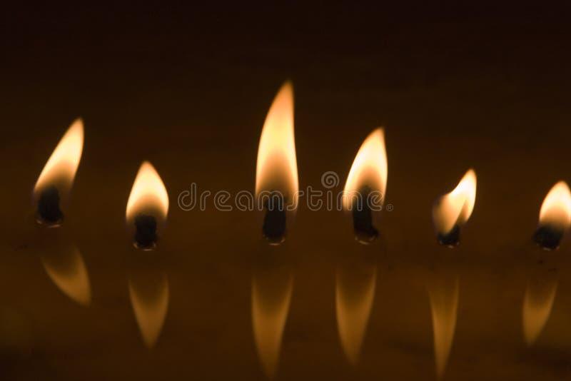 φως lhasa κεριών στοκ φωτογραφία με δικαίωμα ελεύθερης χρήσης