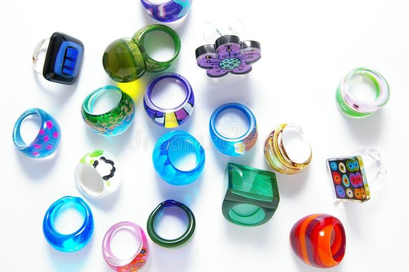 φωτεινά δαχτυλίδια στοκ φωτογραφία με δικαίωμα ελεύθερης χρήσης