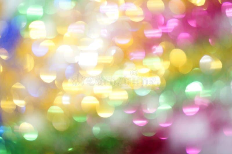 Φωτεινά πολύχρωμα σημεία ως αφηρημένο υπόβαθρο στοκ εικόνες