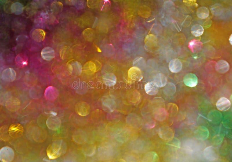 Φωτεινά πολύχρωμα σημεία ως αφηρημένο υπόβαθρο στοκ φωτογραφίες