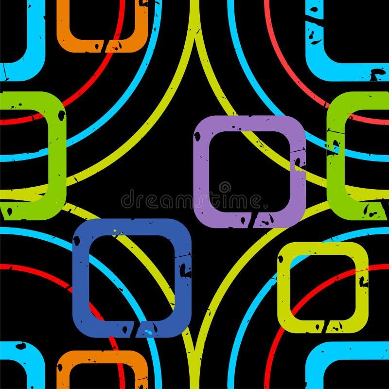 φωτεινά τετράγωνα ελεύθερη απεικόνιση δικαιώματος