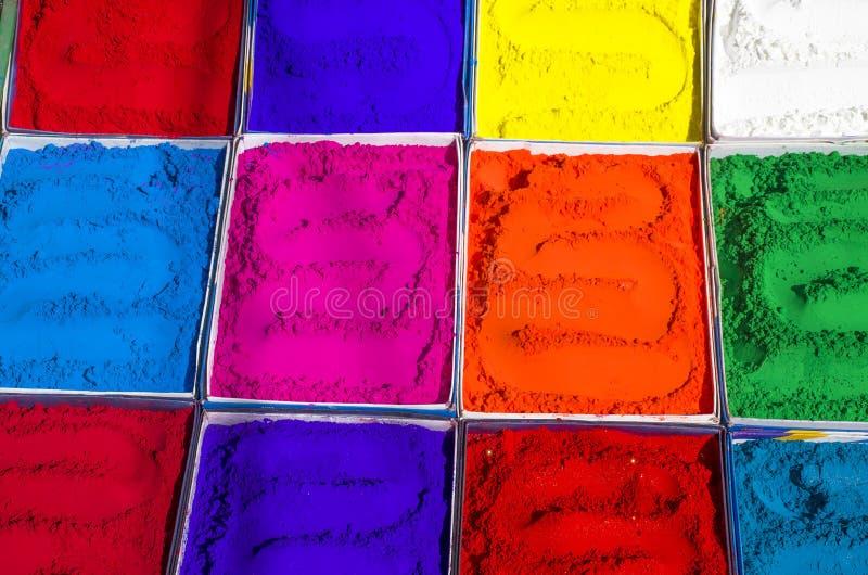 Φωτεινά χρώματα για πώληση στην αγορά της Ασίας στοκ εικόνα με δικαίωμα ελεύθερης χρήσης