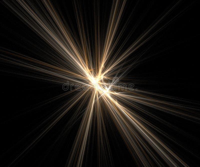 φωτεινές φλόγες διανυσματική απεικόνιση
