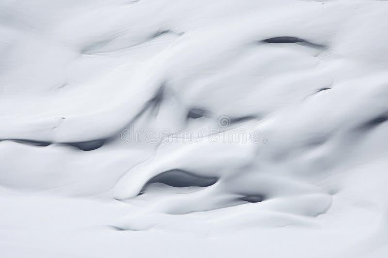 Φωτεινή ανασκόπηση χιονιού στοκ φωτογραφία με δικαίωμα ελεύθερης χρήσης