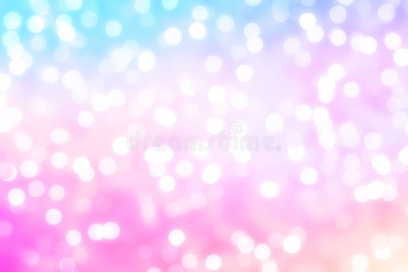 Φωτεινή διακόσμηση διακοπών στο παρασκήνιο, έγχρωμα Χριστούγεννα στοκ εικόνες