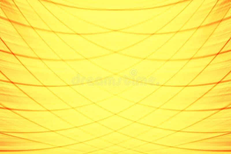 Φωτεινή κίτρινη θαμπάδα υποβάθρου απεικόνιση αποθεμάτων