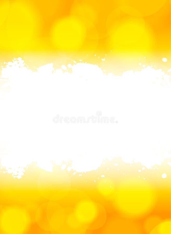 Φωτεινή πορτοκαλιά ανασκόπηση ελεύθερη απεικόνιση δικαιώματος