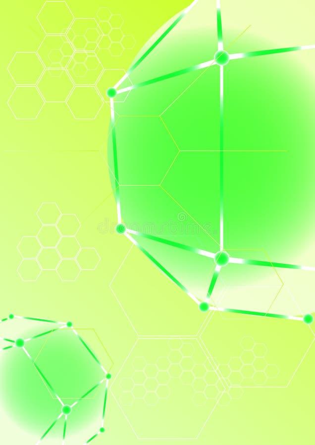 Φωτεινή τεχνολογία Η αφθονία και η ομορφιά του μέλλοντος απεικόνιση αποθεμάτων