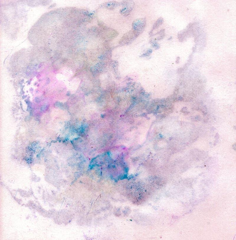 Φωτεινή όμορφη χρωματισμένη σύσταση σε χαρτί με τα χρώματα στοκ φωτογραφία με δικαίωμα ελεύθερης χρήσης