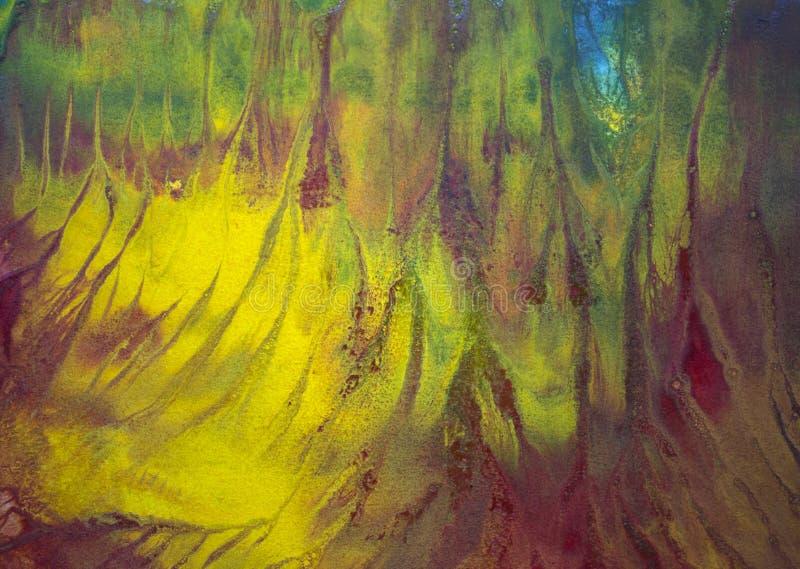 Φωτεινοί λεκέδες watercolor στοκ εικόνες