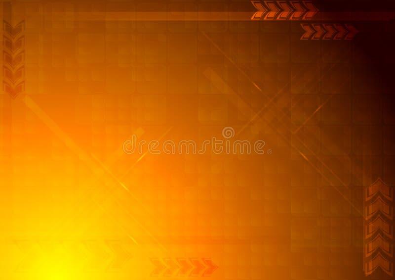 φωτεινός τεχνικός φόντου απεικόνιση αποθεμάτων