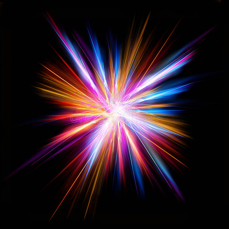 φωτεινό αστέρι απεικόνιση αποθεμάτων