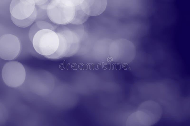 Φωτεινό ελαφρύ αφηρημένο μπλε υπόβαθρο χρώματος bokeh στοκ εικόνες με δικαίωμα ελεύθερης χρήσης
