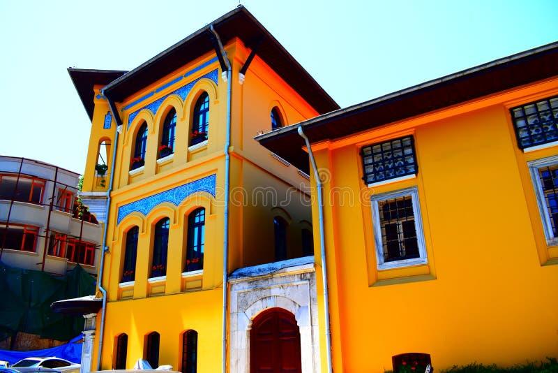Φωτεινό κτήριο χρώματος στοκ εικόνες με δικαίωμα ελεύθερης χρήσης